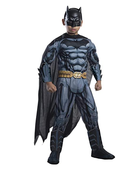 Horror-Shop Traje de Batman con la máscara M: Amazon.es ...