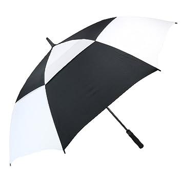 PFFY Automatic Open Golf Umbrella Extra Large Oversize Double Canopy Vented Windproof Waterproof Stick Umbrellas 62  sc 1 st  Amazon.com & Amazon.com : PFFY Automatic Open Golf Umbrella Extra Large ...