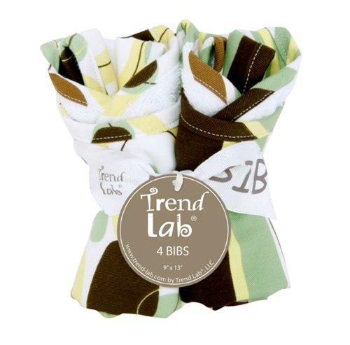 Trend Lab Bouquet 4 Pack Bib - ()