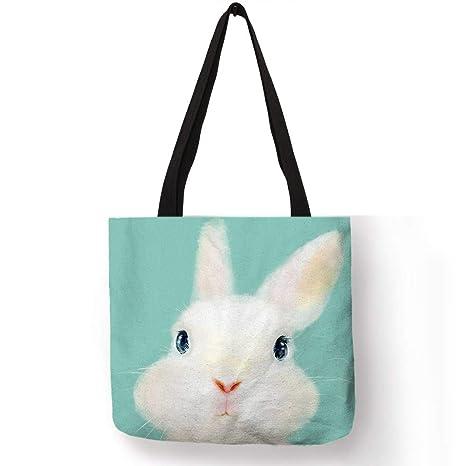 Amazon.com: Vivid 3 D Alpaca Conejo Conejo Impresión Mujeres ...