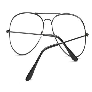9300328035 Siviki Hot sale!!!2018 Fashion Retro Men Women Clear Lens Glasses Metal  Spectacle