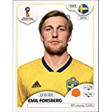 2018 Panini World Cup Stickers Russia #483 Emil Forsberg Sweden Soccer Sticker