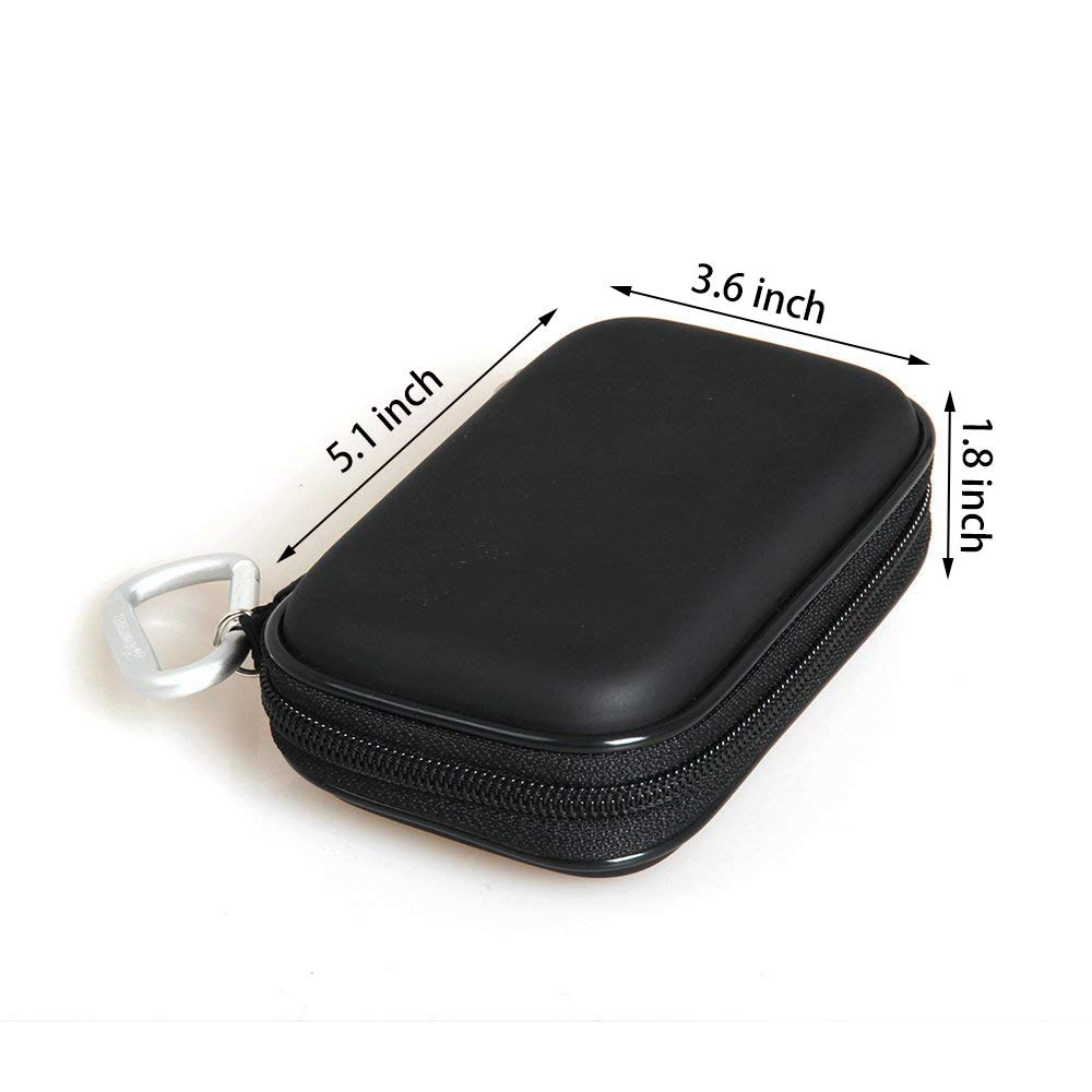Hard Travel Case for G-Technology 500GB / 1TB / 2TB G-Drive Mobile SSD Durable Portable External Storage by Hermitshell by Hermitshell (Image #7)