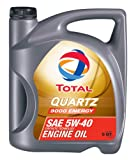TOTAL 184952-3PK Quartz 9000 Energy 5W-40 Engine Oil - 5 Quart (Pack of 3)