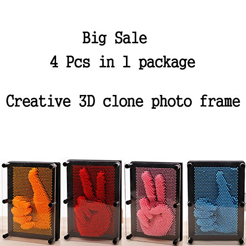 Lui Simple store 4 Different color of frame in 1 package 3D Clone Needle Drawn