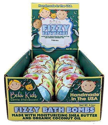 Amazon.com   Bela Kids Fizzy Fun Bath Bombs - Grape Soda Scented ... bf462fdaa7