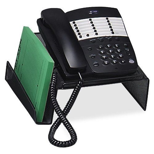 Phone Stand, Steel Mesh, 10-1/2''Wx10-1/4''Dx4-1/4''H, Black