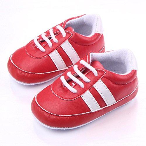 Obermaterial: JIANGFU Mädchen und Jungen retro weichen Boden Schuhe, Infant  Neugeborenen Baby Mädchen Jungen Krippe Patchwork ...
