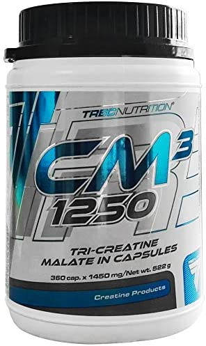 Trec Nutrition CM3 1er pack x 360 kapseln Kreatin Malat Muskelkraft und Aufbau