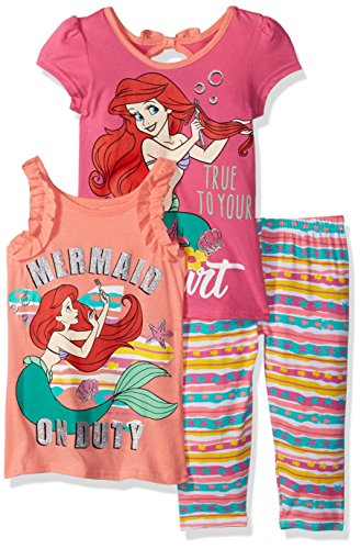 Ariel Princess Birthday Shirt ADD Any Name And Age Little Mermaid Party