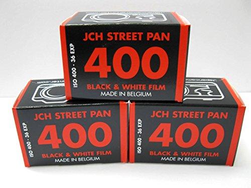 5970bc46880 JCH Street Pan ISO 400 Black   White Film 36 Exposure Roll StreetPan 3 Rolls