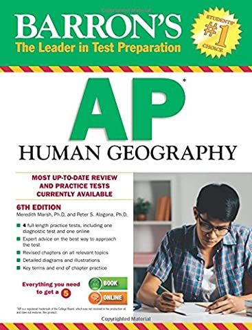 Barron's AP Human Geography, 6th Edition (Geography Practice)