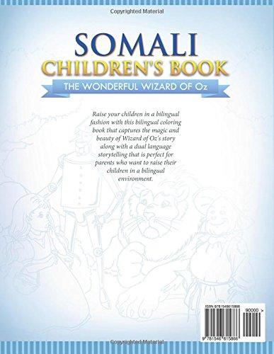Somali Childrens Book: The Wonderful Wizard Of Oz (Somali ...