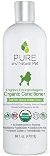 product image for Pure and Natural Pet - Fragrance Free Hypoallergenic Organic Conditioner Fragrance Free 16 oz.