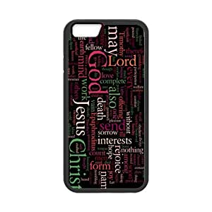 diy zhengCute Jesus Christ Cross Bible Quotes Snap on Case Cover for Personalized Case for iphone 5/5s (Laser Technology) Case Screen iPhone -06