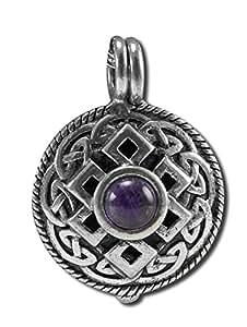 Nature's Alchemy Celtic Jewel Tone Amethyst Antiquity