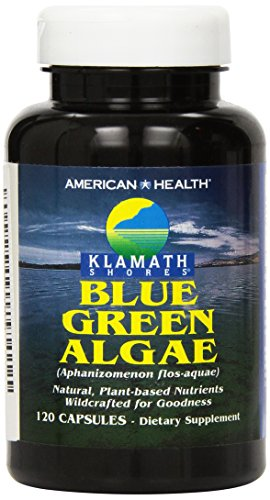 American Health Klamath Shores Blue-Green Algae, 120 Capsules by American Health