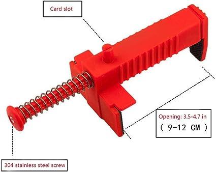 1 Pair Corner Block Holder Masonry /& Tiling Tools to Help Straight Brick Laying Leveling Measuring Plastic Tool for Spirit Level Line Drawing YsaAsaa Bricklaying Tool