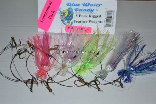 Blue Water Candy 40035 King Rig Tourn Skirted with Featherwrights, ()