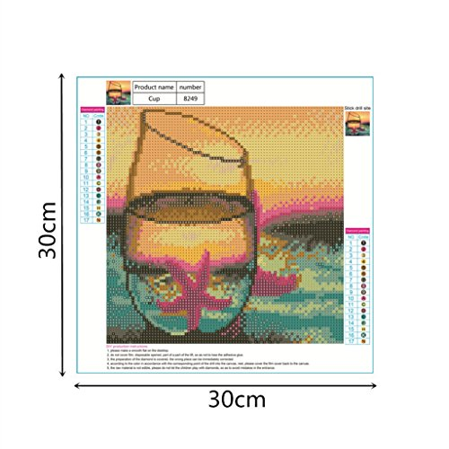 Sunset Beach Diamond Painting Kit Full Drill Mosaic Paints DIY Cross Stitch Crystal Picture Artwork
