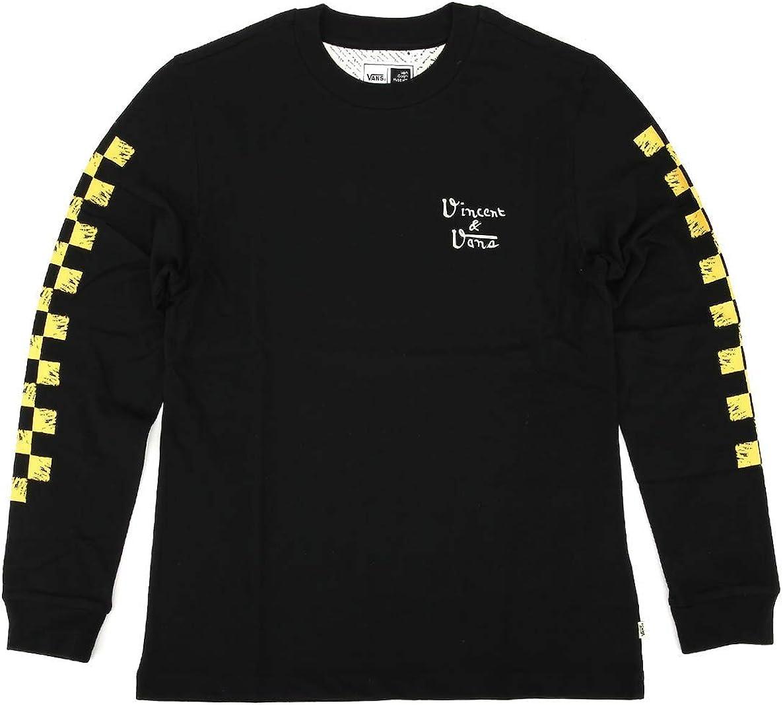 VANS X VAN GOGH - Camiseta DE Manga Larga - WM Skull Negro (XS): Amazon.es: Ropa y accesorios