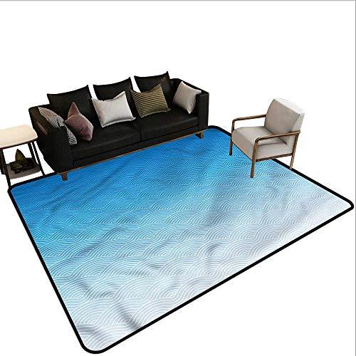 (Geometric,Outdoor Kitchen Room Floor Mat 80