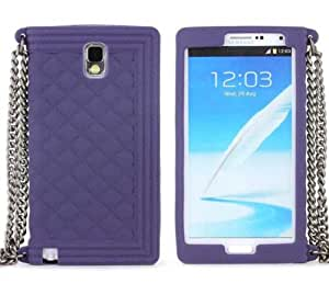 Youvogue Protective Phone Case Skin Cover for Samsung Galaxy Note3 (Purple)
