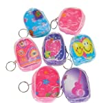 3'' FLICKER BACKPACK KEYCHAIN, Case of 180