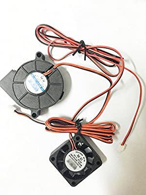3D Printer Cooling Fan Extruder Blower Fan DC 12V 40x10 50x15 Fans Eewolf