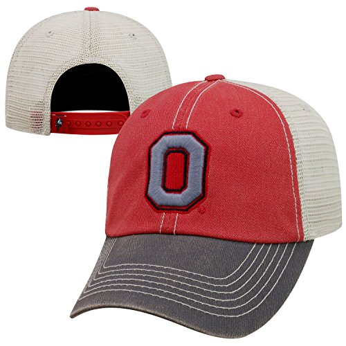 Top of the World NCAA Ohio State Buckeyes Offroad Snapback Mesh Back Adjustable Hat, One Size, (Ohio Cotton Cap)