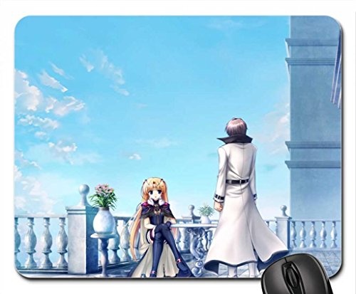 Her royal Guard Mouse Pad, Mousepad (10.2 x 8.3 x 0.12 inches)