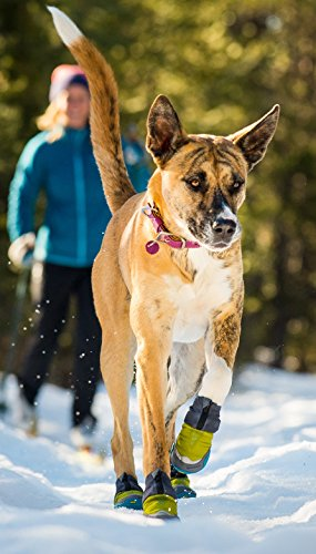 RUFFWEAR Polar TREX Dog Boots Set of 4 ♦ Winter Traction and Insulation (2.5 Inch)