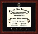 Kansas State Wildcats Diploma Frame - Black