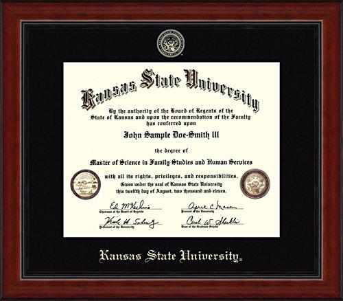 Kansas State Wildcats Diploma Frame - Black by Elite Fan Shop