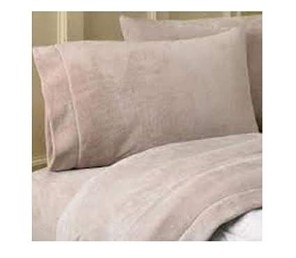 Amazon Com Life Comfort Cal King Size Fleece Sheet Set Extremly