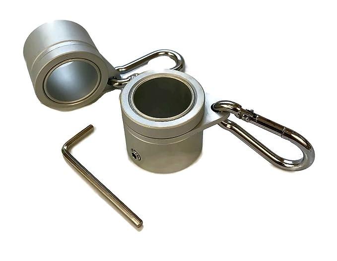 Mástil de aluminio giratorio anillos - anillos de montaje - Juego de 2 - resistente, ligero diseño con Carbiner - Variaciones ofrecidos: Amazon.es: Jardín