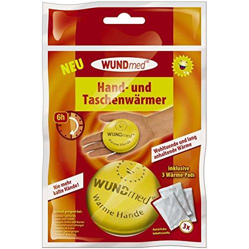Wundmed 4er Pack Hand- und Taschenwärmer Runddose mit je 3 Pads