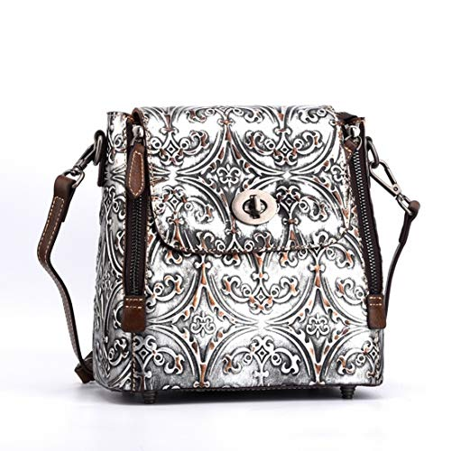 Sixminyo Borsette Tote Borsa colored Bag Silver Donna color Multi A Da E Borse Tracolla Eq80xrEZw