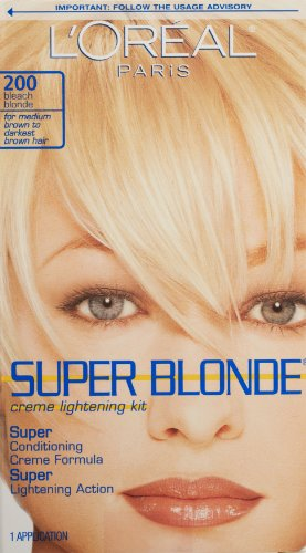 L'Oréal Paris de Super Blonde Couleur des cheveux, Bleach Blonde