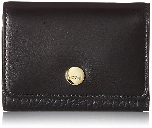Lodis Women's in The Mix RFID Mallory French Purse, Jet, One ()