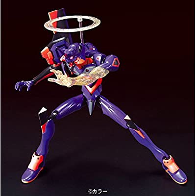 Bandai Hobby HG #03 EVA-01 The Movie Awakening Version Evangelion Model Kit: Toys & Games
