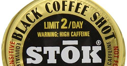 60 Stok Black Coffee Pods and Stirrer Straws Bundle