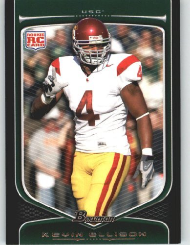 2009 Topps Draft Picks - Kevin Ellison RC/USC (RC - Rookie Card) 2009 Bowman Draft Picks Football Cards #211 / Football Card
