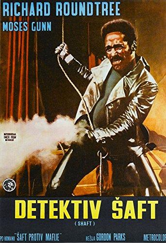 Posterazzi Shaft Richard Roundtree On International Art 1971. Movie Masterprint Poster Print (24 x 36)