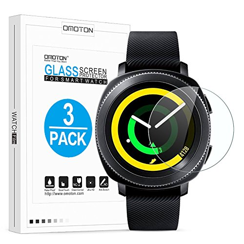 Tempered Glass Screen Protector for Samsung Gear S2 Smart Watch - 2
