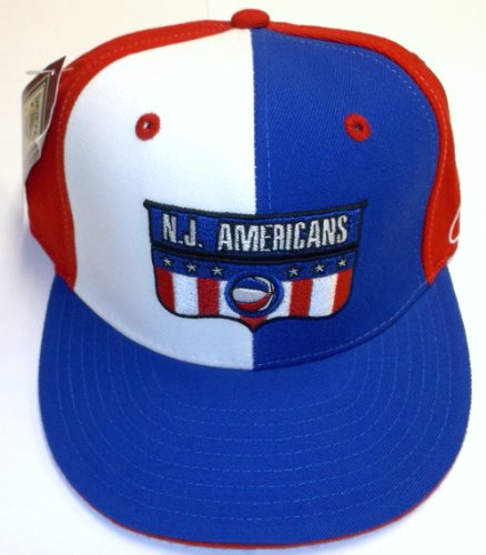 New Jersey Americans Fitted Hardwood Classics Reebok Hat - 7