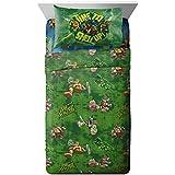 Nickelodeon Teenage Mutant Ninja Turtles 'Mean Green' Soft Microfiber Full 4 Piece Sheet Set