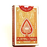 Peacock Playing Cards - Yellow Deck