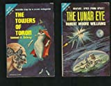 img - for The Towers Of Toron / The Lunar Eye (Vintage Ace Double, F-261) book / textbook / text book