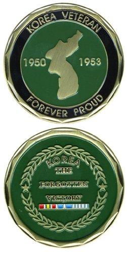 Collectible Veteran Service Korea Coin